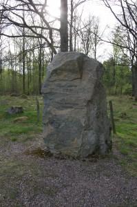 Sten till minne av slaget i Anderstorp