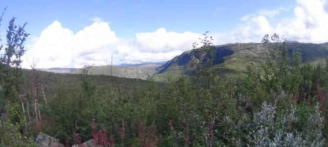 Narvikfjällen 2014 6/6 Hunddalshytta-Katterat