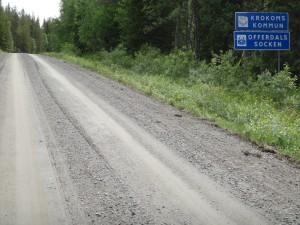 Vandrar in i Krokoms kommun och Offerdals socken